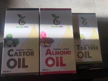 Venta: Pack 3 aceites precintados. 100% naturales