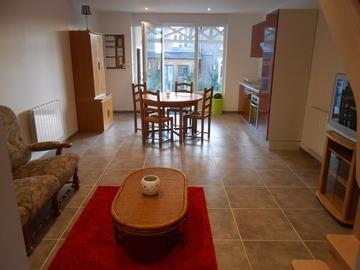 Location par mois: Maison F3 - Flamanville (63 m²)