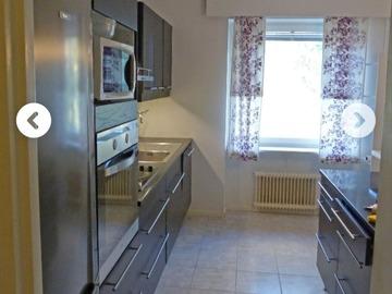 Annetaan vuokralle: Furnished 2 room apartment near Aalto university