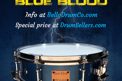"Selling with online payment or cash/check/money order/cash app/Venmo: 14""x4"" Bello fiberglass snare drum"