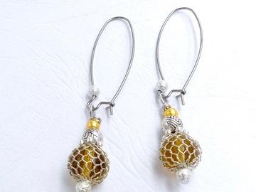 Sale retail: Boucles d'oreilles pendantes, bijoux fait main