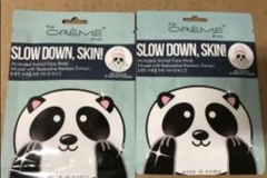 Liquidation Lot: The Creme Shop Facial Masks, 100 Units $650