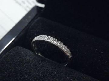 Ilmoitus: Valkokultainen Tillanderin timanttisormus
