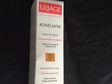 Venta: Crema Roseliane de Uriage color dore sin usar
