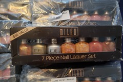 Buy Now: 38 SETS OF MILANI NAIL LAQUER 7PC NEUTRALS LOT $1140 VALUE