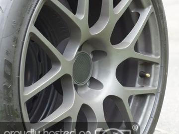 Selling: 5 18x9.5 matte gunmetal TSW Nurburgrings w Conti dws06 tires