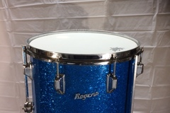 SOLD!: SOLD! Rogers 14x14 blue sparkle floor tom