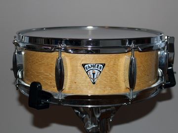 """Selling with online payment: Famous Drum Snare 14 x 5.5"""" 4-ply Maple shell"""