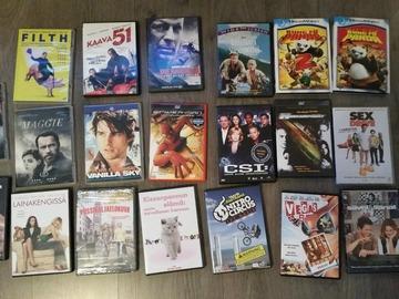 Myydään: DVD-elokuvia