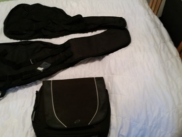 Selling: Electric guitar bags and laptop bag