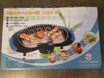 Selling: 2000W electric grill