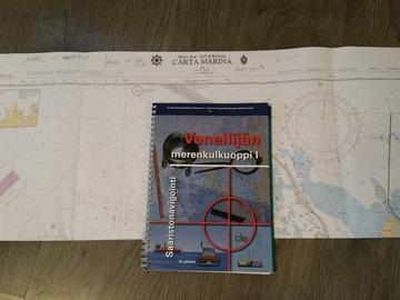 Selling: Veneilijän merenkulkuoppi 1 + carta marina