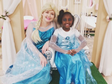 Request To Book & Pay In-Person (hourly/per party package pricing): Kids Princess Party