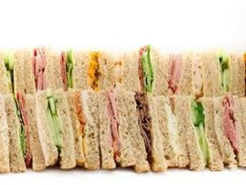 Book & Pay Online (per party package rental): Finger Sandwich Package (Feeds 40 )