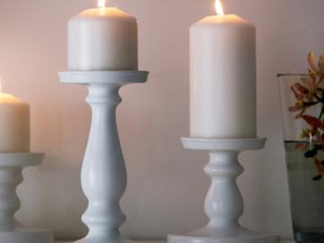 Ilmoitus: Ikea ERSÄTTA kynttilänjalat, 2 isoa ja 6 pientä