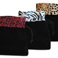 "Buy Now: 150- Animal Print Velvet Pouches 4 1/2"" x 5"" - $ .65 pcs!"