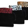 """Liquidation/Wholesale Lot: 150- Animal Print Velvet Pouches 4 1/2"""" x 5"""" - $ .65 pcs!"""