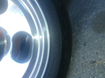 Selling without online payment: Mustang rims