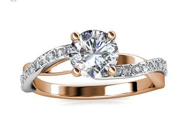 Vente avec paiement en ligne:  Bijoux anneaux pour les femmes alyans gothique Femme anneau