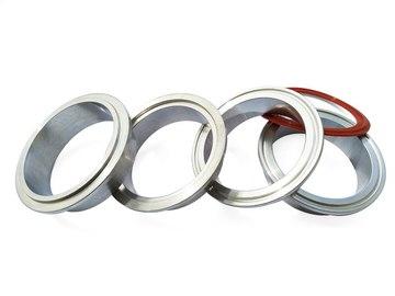 Vente avec paiement en ligne:  2.5 ''Alliage V bande avec joint O ring Aluminium Brides