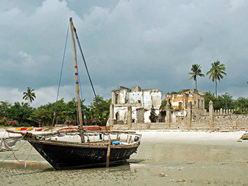 Offering with online payment: Bagamoyo City Tour