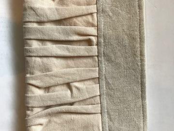 Ilmoitus: Pellava käsilaukku (käyttämätön)