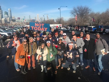 Paid Events: Bears PLAYOFF tailgate!!! Bears vs Eagles