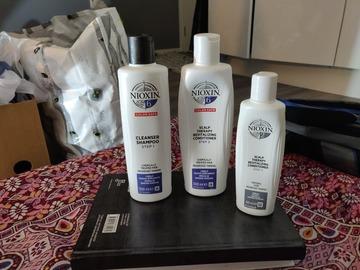 Annetaan: Nioxin shamppo and conditioner