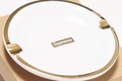 Selling: Supreme Gold Trim Ashtray
