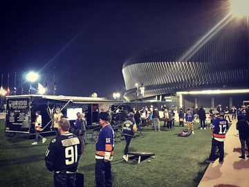Free Events: Mobile Man Cave's NY Islanders Tailgate Party  - January 20th