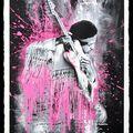 Selling: Jimmy Hendrix (pink) By Mr.Brainwash