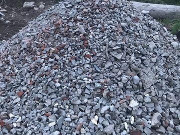 Bulk Material For Sale: Recycled concrete