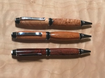 Learn a skill (one-on-one): Make your first pen!