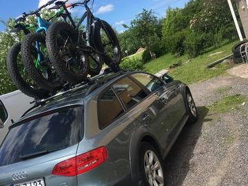 Vuokrataan (viikko): Thule Proride 598 pyöränkuljetusteline katolle