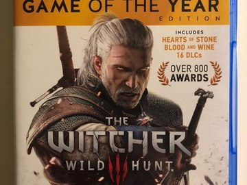 Selling: The Witcher 3 (PS4) Game of the year edition