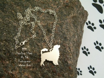 Selling: Necklace Portuguese Water Dog * 925 sterling silver
