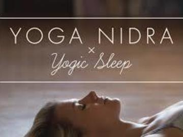Private Session Offering: Yoga Nidra