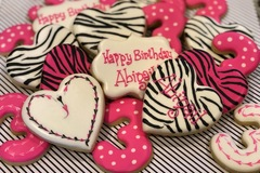 Request To Book & Pay In-Person (hourly/per party package pricing): Custom cookies
