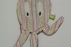 Vente au détail: Doudou de bain - Pieuvre aux rayures colorées