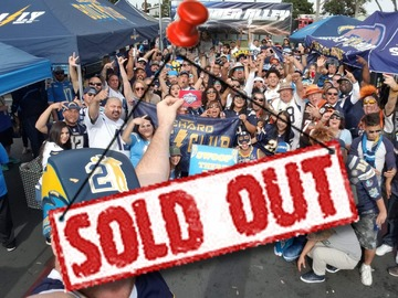 Paid Events: Thunder Alley Presents: Chargers at the Pats playoff game!