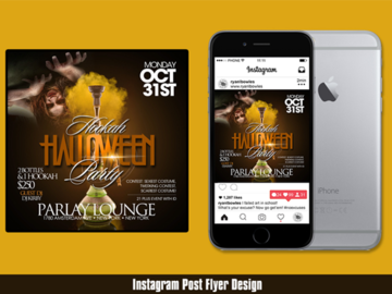 Offering with online payment: Instagram Post Design Service