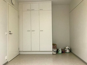 Renting out: A single room in a 3-room HOAS apartment.