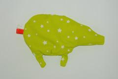 Vente au détail: Bouillotte sèche - Cochon vert anis
