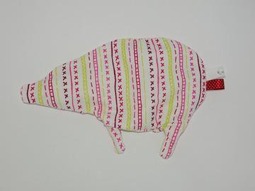 Sale retail: Bouillotte sèche - Cochon aux rayures colorées