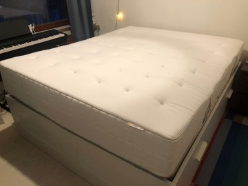 Selling: IKEA semi-solid mattress