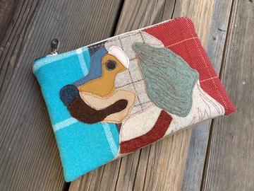 Selling: Labrador Dog Zippered Bag, Dog Travel Bag, Dog Purse