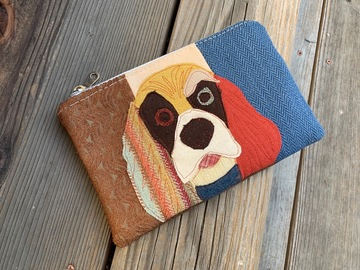 Selling: Cocker Spaniel Dog Zippered Bag, Pet Lover Gift, Dog Clutch