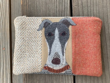 Selling: Greyhound Dog Travel Bag, Pet Lover Gift, Dog Purse