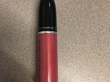 Venta: Metallic rose labial liquido mate metálico de Mac