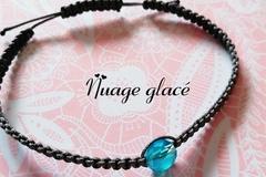 Vente au détail: Bracelet  'Nuage glacé'